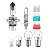 9Pcs H4 H7 H1 1156 1157 G18 Car Fuse Replacement Light Bulb Kit Halogen Lamp Universal