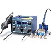 YIHUA 862BD + EU 220V High Power 2in 1 Hot Air Rework Пайка Станция с импортным Нагреватель для ремонта телефона Инструмент