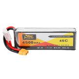 ZOP Power 11.1V 4500mAh 3S 45C Batterie Lipo XT60 Prise de Courant