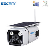 ESCAM QF260 WIFI HD 1080P 2.0MP Wireless IP67 На открытом воздухе Солнечная Батарея Энергопотребление при низком энергопотреблении PIR Безопасность видеонабл