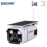 ESCAM QF260 WIFI HD 1080P 2.0MPワイヤレスIP67屋外太陽電池電力低消費電力PIR監視セキュリティカメラ
