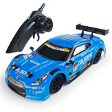 1/16 2.4G 4WD 28cm Drift Rc Bil 28km / h Med Front LED Light RTR Toy