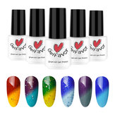 Gelfavor Zmiana temperatury UV Gel Polish LED Shiny Soak Off Lakier Lakier Nail Art 7ml Manicure