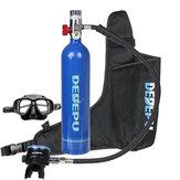 1L подводный баллон с кислородом баллон с воздухом подводный Glassess комплект оборудования для дыхания