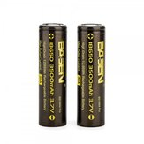 4 Pcs BASEN BS186M Pro 18650 Battery 3500mAh 30A Rechargeable Li-ion Battery For Camping Hunting Cycling