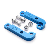 CNC Adapter Tire Increasing Turn Angle 25% -30% Drift Lock Kit For BMW E36 M3 Blue