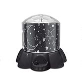 USB Bunte Cartoon kreative Geburtstagsgeschenk Autorotation LED Projektor Sky Light Night Lampe