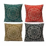 Nordic style Decorative Pillow Case Linen Cotton Cushion Cover Home Textile