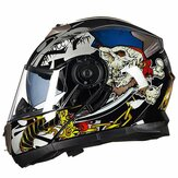 GXT 160 Flip Up Motorcycle Full Face Helmet Double Lens Casco Racing Capacete