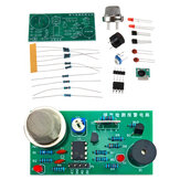 MQ5 Gas Detection and Alarm Circuit Board DIY Parts Support Sound and Light Alarm Sensor Kit