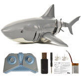 T11B 2.4G 4CH電気RCボートシミュレーションサメ動物RTRモデルおもちゃ灰色