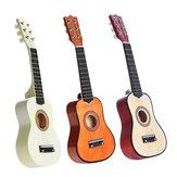 21 Inch 6 Cuerdas Basswood Acústica Classic Guitarra Para Niños Regalo de Niños Mini Instrumento Musical