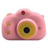 Zabawny aparat dla dzieci z kartą pamięci USB Akumulatory dla dzieci z HP IPS ekranem cyfrowym Mini zabawkowy prezent Aparat dla dzieci
