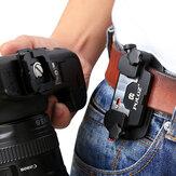 PULUZ PU231カメラクリップDSLRカメラ用プレート付きアルミニウム合金クイックリリースクリップ