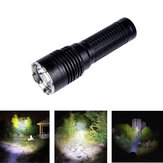 AMUTORCH X10 XHP50 / SST40 2500LM Ultra Bright Lange afstand 26650 Tactische zaklamp IPX8 Outdoor Waterdichte LED Mini-zaklamp