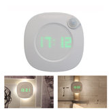 LED Night Light Human Body Infrared Sensor Lamp Cabinet Light With Time Display