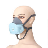 AN3003 Dustproof Mask Breathable Dustproof Polishing Mask Powder Coal Mine Mask with KN95 Filter