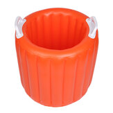 20L Outdoor Portable Inflatable Folding Water Bucket Pail Boiling Water Container