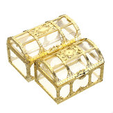 Treasure Chest Jewelry Box Crystal Gem Storage Organizer Mini Case Birthday Gifts