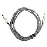 3.5mm do 2.5mm Zamiennik Kabel Słuchawkowy Zdalny Mikrofon Mic dla Bose Quiet Komfort 25 35 QC25 QC35 Słuchawki