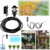 4L/Min Diaphragm Self Priming Pump Water Misting Cooling System Hose Irrigation