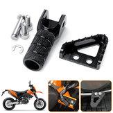 Bremspedale hinten Trittplatte + Schalthebel-Schalthebelspitze für KTM SX EXC XCF SMC
