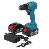 98VF 2000r / min elektrische boor LED-snoerloze schroevendraaier Power Tool W / 1 st of 2 stks batterij