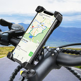 RAXFLY Motorcycle Bike Handlebar Phone Holder 360 Degree Rotation For 4 inch-7 inch Smart Phone Samsung Galaxy S10 Plus iPhone XS Max
