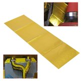 20x60cm Self Adhesive Reflective Gold High Temperature Exhaust Heat Shield Wrap Tape