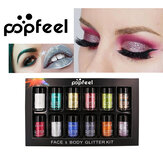 POPFEEL 12 Color Diamond Pearl Eye Shadow