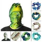 52 * 24см спорта на открытом воздухе рыбалки полиэстер трубчатая шарф запястье оголовье протектор маска для лица