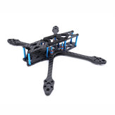 Strech X5 Freestyle 220mm Wielbasis 5.5mm Arm 5 Inch FPV Racing Frame Kit 108g 30.5x30.5 / 20x20mm voor RC Drone