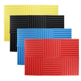 6Pcs 30x30x2.5cm Soundproofing Foam Acoustic Wall Panels Studio Soundproof Foam