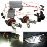 LED Angel Eyes Halo RING Light H8 Lampfout Gratis voor BMW EE90 E91 E92 E93