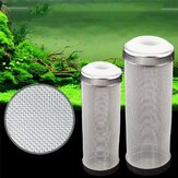 Stainless Steel Filter Inlet Case Shrimp Nets Set Necessary Special/Aquarium Shrimp Cylinder Filter