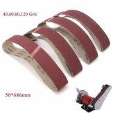 50x686mm 40 60 80 120 Grit Sanding Belts Sander Abrasive Tool
