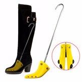 Professioneller Stiefelspanner Einstellbare Breite Shoe Shaper Extender Wooden Boot Tree Stretch für Damen