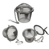 Stainless Steel Spice Tea filter Herbs Locking Infuser Mesh Ball