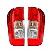 Задний фонарь автомобиля красный левый / правый с проводкой лампы накаливания для Nissan Navara NP300 D23 2015-2019