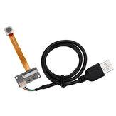 HBV-1466AF Auto Focus 5M Pixel OV5640 CMOS Módulo de câmera com cabo flexível USB 5 milhões Pixels