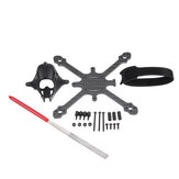 Eachine Tyro89 Spare Part 115mm 2.5 Inch Frame Kit w/ Canopy & Battery Strap for Toothpick RC Drone