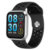 Bakeey M98 Big Screen Fashion Smart Watch Realtime HR and Blood Pressure Monitor Music Control Wristband