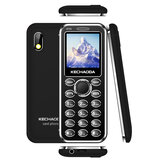 KECHAODA K115 1.44 Inch 460mAh bluetooth Dailer FM With Vabration Dual SIM Card Dual Standby Ultra Thin Mini Crad Phone