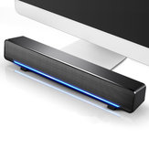 SADA V-196 Компьютерный динамик 3D Stereo Sound Deaktop USB 3,5 мм Проводное управление Soundbar