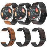 Bakeey 22mm Reloj inteligente de cuero Banda Correa de repuesto para Samsung Gear S3 / Para Huawei Reloj GT 2 / Amazfit GTR 47mm