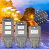 Luz exterior posta solar do movimento de rua PIR de 20W 40W 60W LED lâmpada Sensor