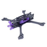 Cockroach HX V4 220MM / H-Type V4 Pro 223MM 5inch Carbon Fiber FPV Racing Frame Kit for Mini RC Drone Quadcopter DIY Parts