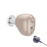 USB újratölthető hallókészülék halláserősítő fülhallgató az idősek hangerősítőjéhez és hallásvesztéshez