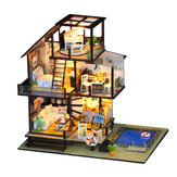 Iie Create K048 Seattle Holiday DIY Assembled Cabin Creative With Furniture Indoor Toys