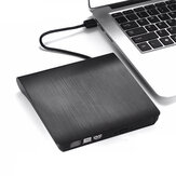 USB3.0 External Optical Drive Slim USB CD DVD Burner DVD-RW Player Writer Support 2MB Data Transfer for PC Laptop Computer